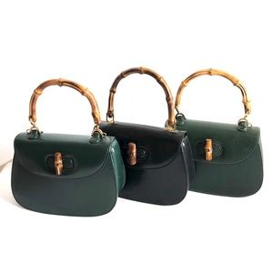 Gucci Vintage Small Bamboo top Handle Bags